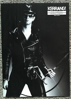 ROB HALFORD / JUDAS PRIEST 2007 Full page UK magazine poster