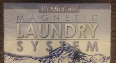 Magnetic Action Clean Laundry Revolutionary System Save $