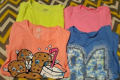 26 piece lot of girls Justice clothes size 10/12