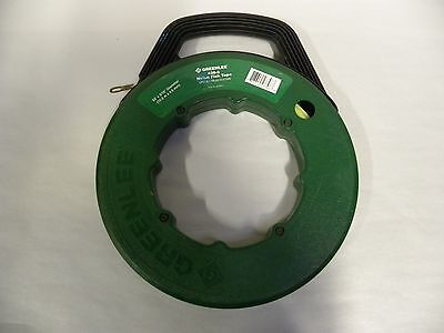 "Greenlee 436-5  50' x 3/16""  Nylon Electricians Fish Tape Wire Puller (A8)"