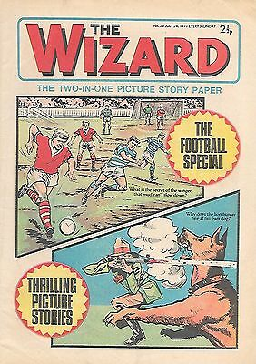 The Wizard 76 (July 24, 1971) very high grade copy