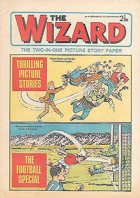 The Wizard 84 (September 18, 1971) very high grade copy - Bournemouth feature