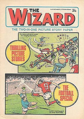The Wizard 85 (Sept 25 1971) high grade copy. John Connelly/Barry Bridges strips