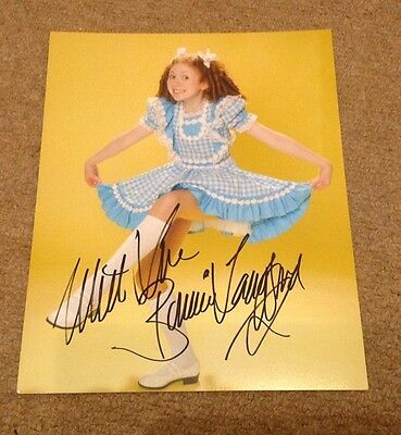 BONNIE LANGFORD    -   DR WHO   SIGNED  SEXY 10x8 COL PHOTO - UACC PROOF + COA