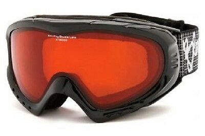 Bloc Utopia Black Ski / Snowboard Goggles UT05 Snow skiing Medium Mens Womens