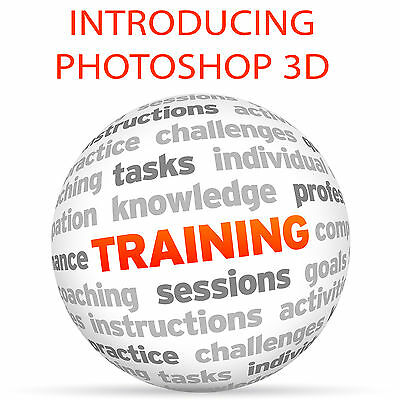 Introducing PHOTOSHOP 3D - Video Training Tutorial DVD