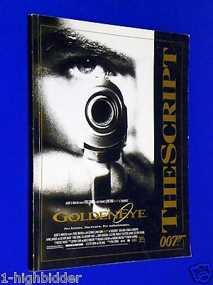 Goldeneye James Bond 007 SCRIPT Pierce Brosnan Izabella Scorupc Famke Janssen