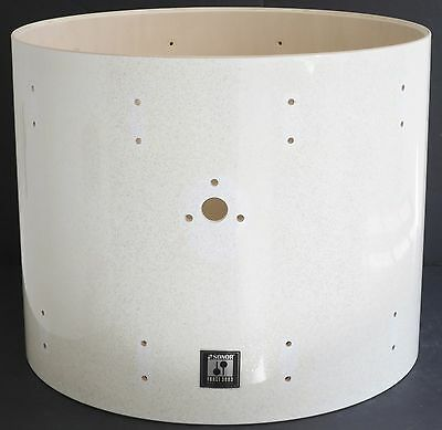 Sonor Force 3003 Maple 22 x17 1/2 Deep Bass Drum White Sparkle Lacquer 3005/3007