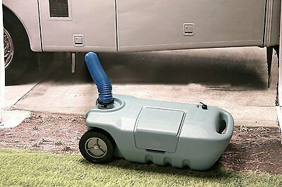 Tote N Stor Portable Waste Transport 32 Gallon Capacity Rv Sewer Water Tank New