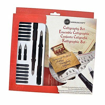 Manuscript Masterclass Calligraphy Gift Set. A Great Present Writers or Artists