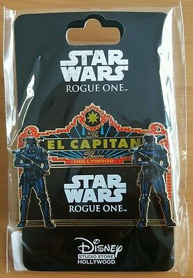 DSF GSF DSSH Star Wars Rogue One Marquee Pin LE 300