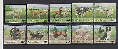 New Zealand-Farm animals booklet stamps