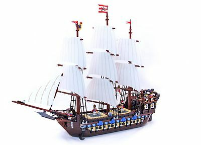 Custom Imperial Flagship brick set for 10210 lego Pirates SHIPS FROM USA