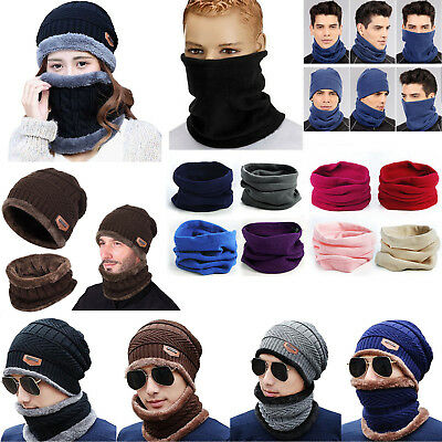 Tactical Hat Beanie Fleece Winter Warm Balaclava New Snood Scarf Neck Warmer Men