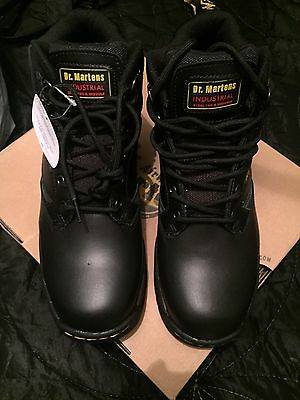 Bnib Dr Martens Industrial Steel Toe Cap Safety Work Boots 6