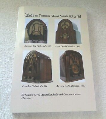 Vintage radio book   - Cathedral and Tombstone radios