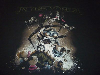 In This Moment Shirt ( Used Size L ) Good Condition!!!