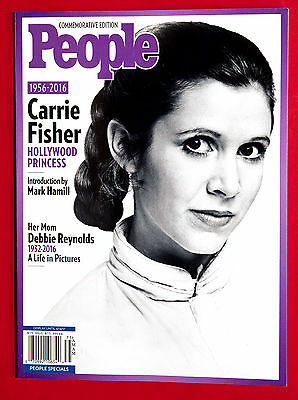 People Commemorative Edition 2017 Carrie Fisher 1956-2016 - BRAND NEW BOOK