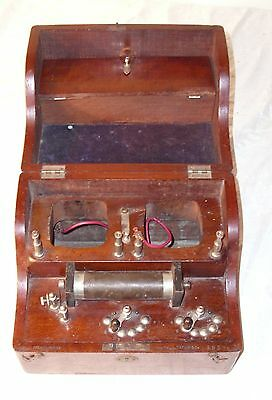 Huston Brothers Instrument Makers Quack Electrical Medical Box 1884