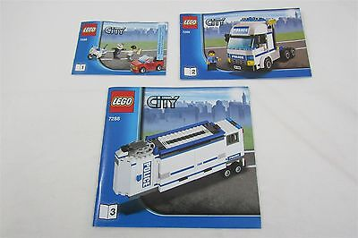 LEGO 7288 CITY Mobile Police Unit Instructions Manuals  Only