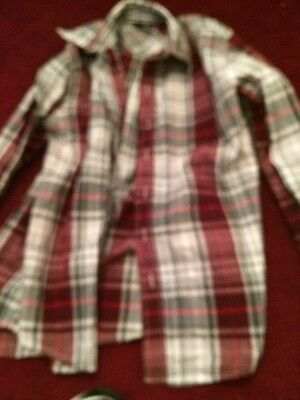 Boys mixed lot of dress and casual shirts sized 10/12 m/l