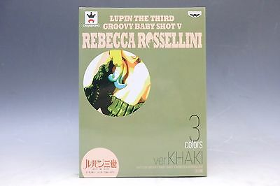 Lupin the Third 3rd Groovy Baby Shot V Vol.5 Rebecca Rossellini Ver. Green