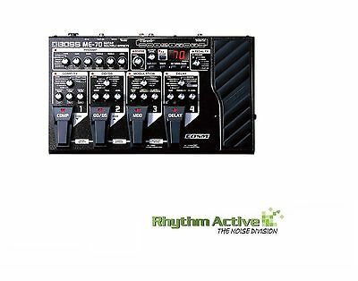 Boss Me-70 Guitar Multi-Effects Processor Foot Pedal By Roland Me70