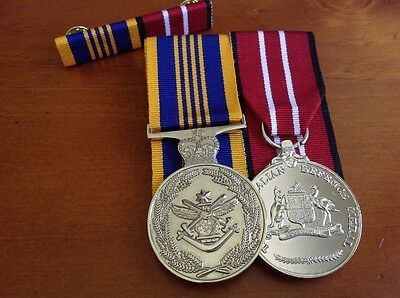 Australian Defence Long Service Medal and Defence Medal