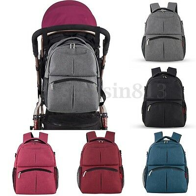 Baby Diaper Backpack Multifunctional Mommy Bag Nappy Changing Mummy Backpack HOT
