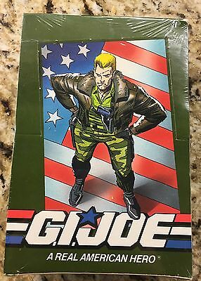 1991 GI JOE Official Trading Cards IMPEL Factory Sealed Box 36 Packs VINTAGE