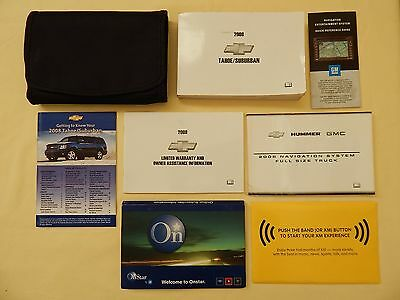 2008 Chevrolet Tahoe/suburban  & Navigation System Owners Manual