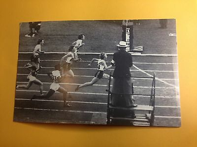 Old Melbourne Olympics Postcard Betty Cuthbert