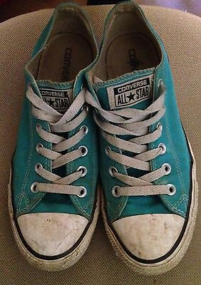Converse All Star Preowned Womens 9/Mens 7 (Teal Colour)
