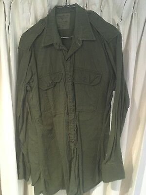 Australian Army jungle green shirt