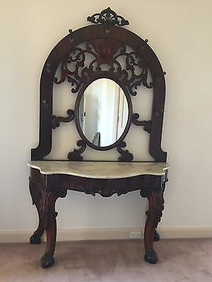 Antique Hall Stand / Mirror