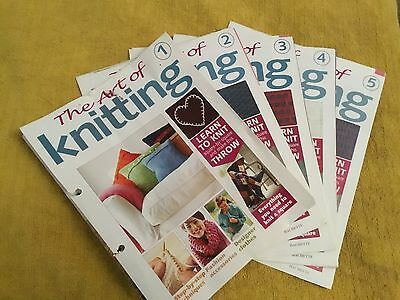 The Art Of Knitting No's 1 To 5