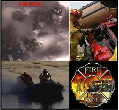 Fire Vehicle Rescue & USAR Firefighter Training DVD + Videos References & MORE