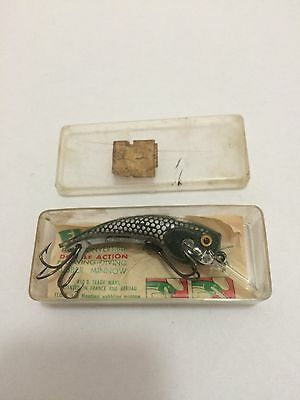 Vintage Medium NOS Floppy Fishing Lure In Original Box With Instructions.