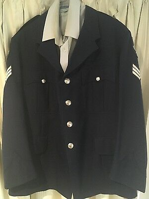 Police Dress jacket shirt SAPOL 1980 's old patches