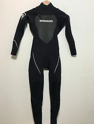 Quiksilver Youth Full Wetsuit Syncro 3/2 - Kids Childs Juniors Size 10