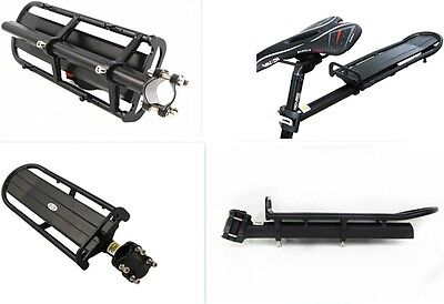 Bicycle Bike Seatpost Quick Release Alloy Rear Rack Carrier Pannier