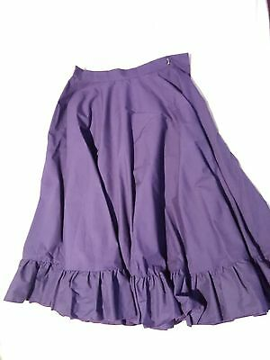 Bloch purple character skirt (ABS) child large