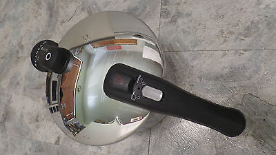scanpan pressure cooker 8 ltr induction saucepan stainless steel
