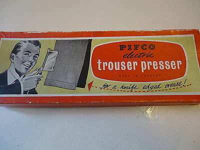 Pifco Vintage Electric Trouser Presser - Original Box