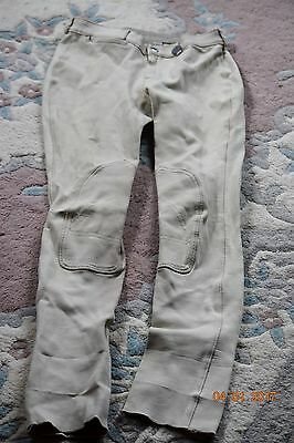 Jodphurs (2) blue and beige pair riding pants childs size 14