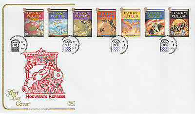"Gb Fdc Cotswold 2007 ""harry Potter"" Sp/hs"