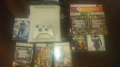 xbox 360 console extra memory with games