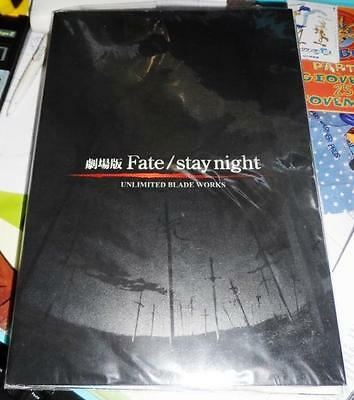 Fate unlimited blade works artbook + cd