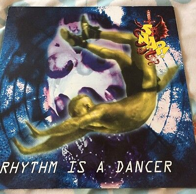 "Snap Rhythm Is A Dancer 12"" Vinyl"