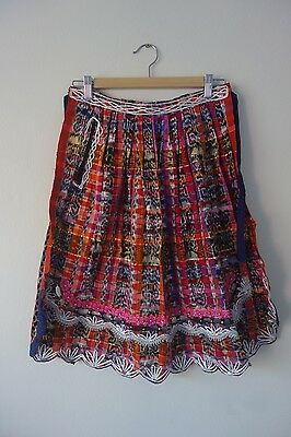 Embroidered / Woven Folk Dress Apron